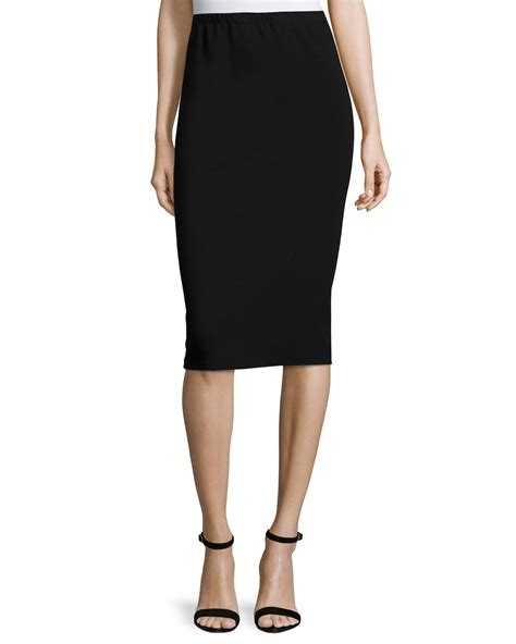 lafayette 148 new york punto pencil skirt in