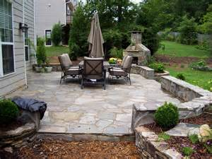 brown flagstone