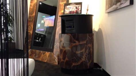 hiding audio video components   room motorized