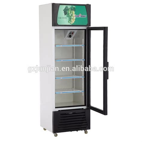 Glass Showcase For Sale Commercial Beverage Cooler 1 Door Glass Door Coolers For Sale