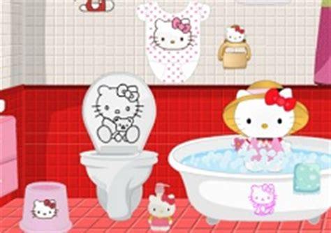 hello kitty bathroom games hello kitty bathroom decor hello kitty games