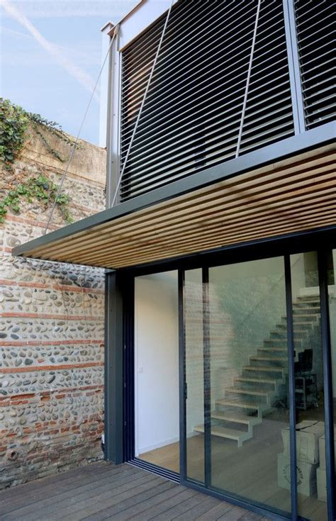 Brise Soleil Maison by R 233 Novation Et Extension D Une Maison Individuelle En 2019