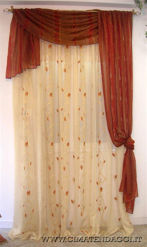 tendaggi con mantovane mantovane per tende tende con mantovane torino cima