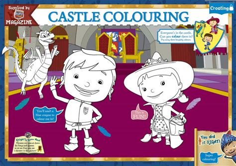 nick jr mike the knight coloring pages mike the knight mike and evie coloring page by