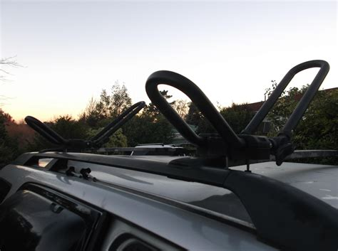 kayak roof rack