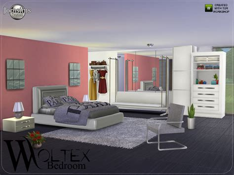 sims bedroom jomsims woltex bedroom