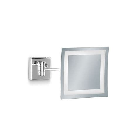 Specchi Ingranditori Per Bagno Specchio Ingranditore Da Bagno Con Luce Led E Sabbiatature