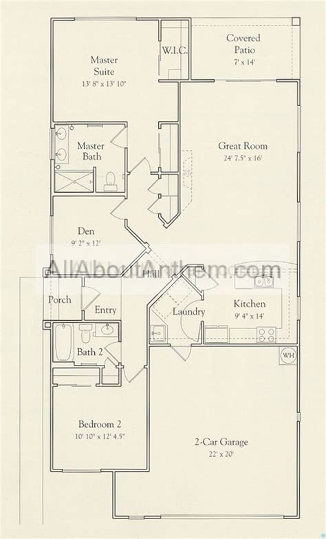 webb anthem floor plans 1458 mojave all about anthem arizona