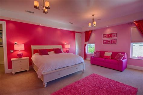 big pink bedroom teen girl bedroom interior design by ruth stieren baer