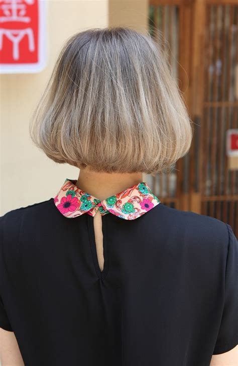 medium length bob hairstyle front and back view back view of trendy medium length bob cut japanese