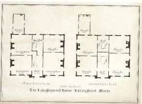 georgian floor plans palladian perfection new style part 2 the pepperell house at kittery point maine