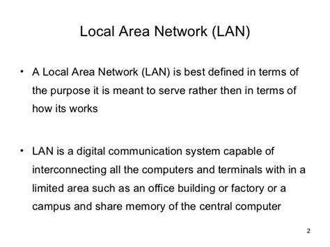 how local area networks work be excited be very excited working of lan