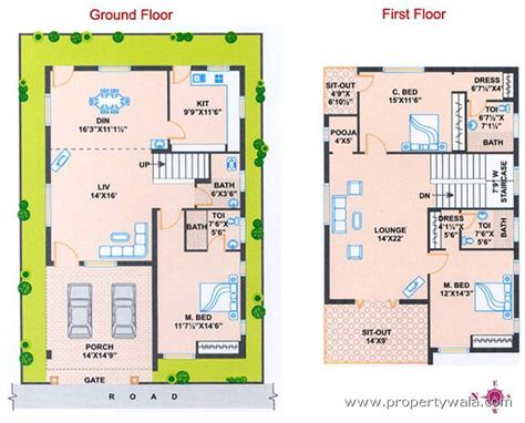 west facing house plans as per vastu in india escortsea