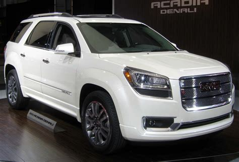 gmc adacia cars models gmc acadia 2013