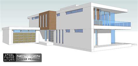 next home design two story modern glass home design next generation