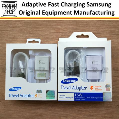 Charger Samsung Fast Charging Original 100amsung Batok Kabel adaptive fast charging samsung galaxy s6 edge original oem casan charger carger sein