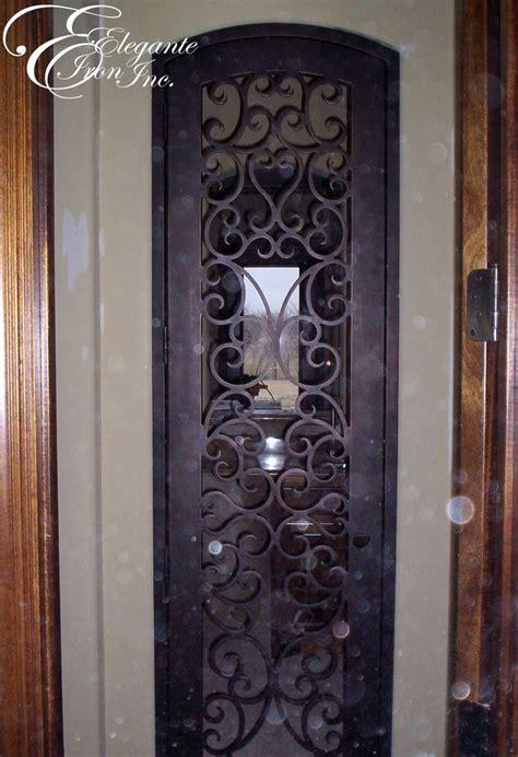 Interior Wrought Iron Doors Custom Wrought Iron Wine Gate Wine Doors And Other