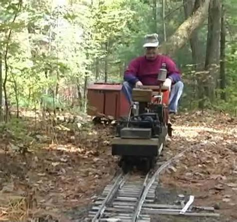 backyard trains backyard railroad journal inquirer video