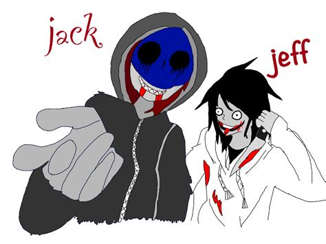imagenes de jack vs jeff the killer jeff the killer and eyeless jack by theespartaco20 by