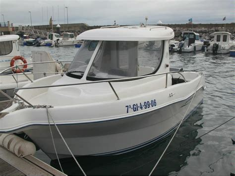 used pilot house boats quicksilver 580 pilothouse in marina yates del principado