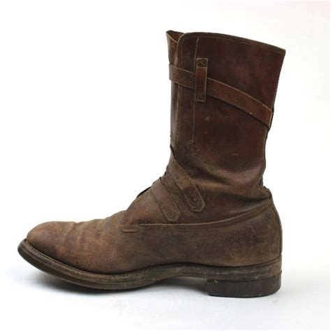 44th collectors avenue russet leather tanker boots