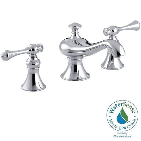 kohler revival bathroom faucet kohler revival 8 in widespread 2 handle low arc water