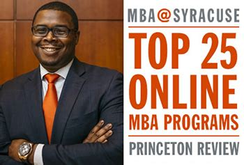 Princeton Review Mba Programs by Whitman School Named To Princeton Review S 2017 Top 25