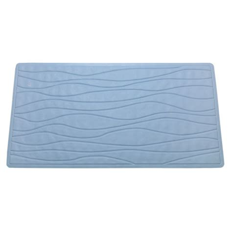 Blue Rubber Mat by Slate Blue Non Slip Rubber Bath Tub Mat Altmeyer S