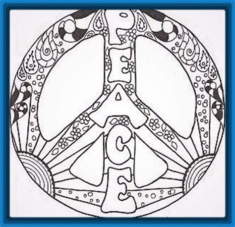 imagenes de mandalas de la paz mandalas dia de la paz para colorear archivos dibujos de