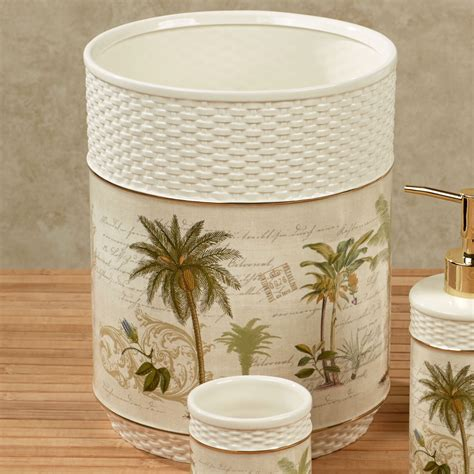palm tree bathroom accessories palm tree bathroom accessories colony palm tree tropical