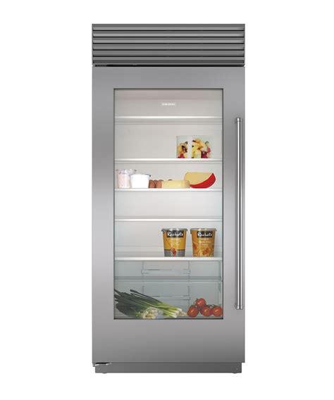 Refrigerator With Glass Front Door 17 Best Ideas About Glass Door Refrigerator On Glass Front Refrigerator Subzero