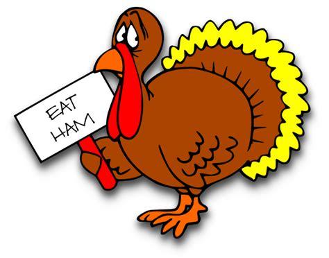 Klip Turky scared turkey clipart