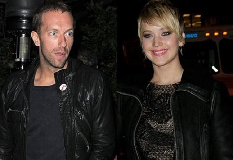 chris martin and jennifer lawrence omg jennifer lawrence fakes with boyfriend chris