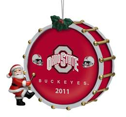 2011 annual ohio state buckeyes ornament the danbury mint