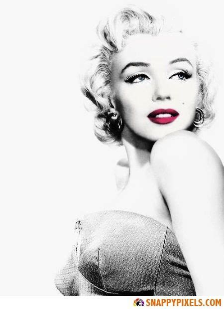 marilyn monroe black and white marilyn monroe black and white pictures with red lips