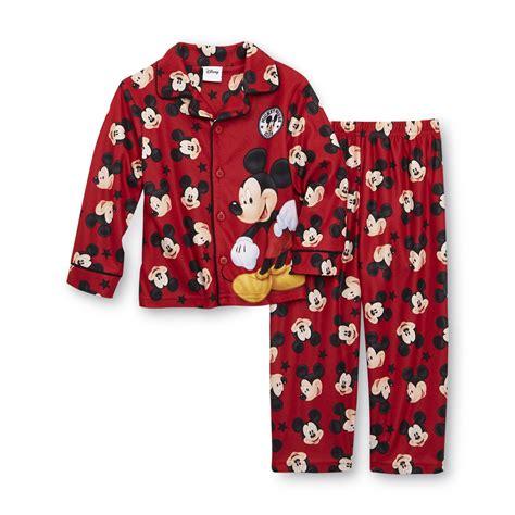 Piyama Pajamas Cp Mickey Mouse disney mickey mouse toddler boy s flannel pajamas
