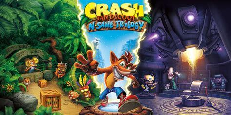 crash bandicoot  sane trilogy nintendo switch games nintendo