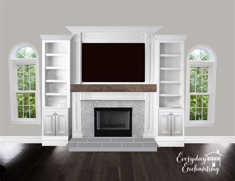 68 best mantels and built ins images on 74 best fireplace mantels images on
