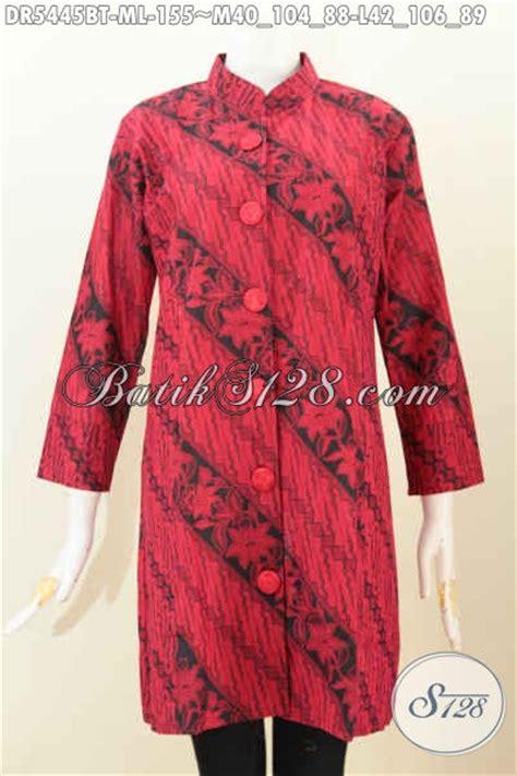 Dress Batik Hitam jual baju batik monokrom warna merah hitam dress batik