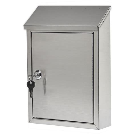 stainless steel mailbox gibraltar mailboxes stainless steel vertical