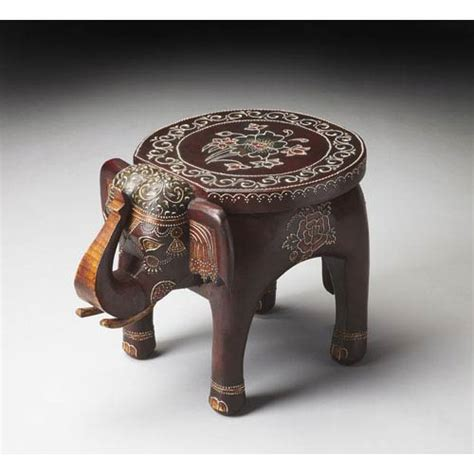 elephant accent table outdoor