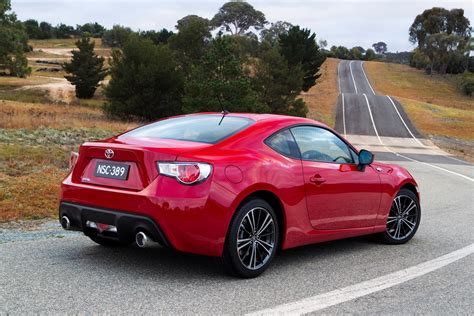 toyota in toyota 86 29 990 coupe launches in australia photos 1