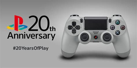 New Stick Ps4 Anniversary 20th Original ps4 new media player 20th anniversary controller white headset the average gamer