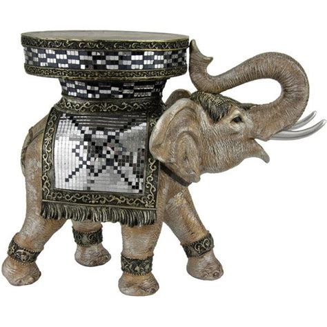 20 quot standing elephant statue home is where the is
