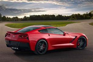 2015 chevrolet corvette stingray profile rear passengers