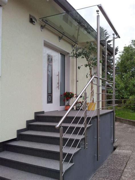 Motorradgarage Aus Glas by Treppengel 228 Nder Mit Vordach Und Seitlichem Windschutz