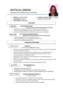 Resume Sample In Spanish by English Spanish Spanish English Dictionary