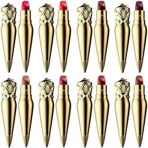 Christian Louboutin Velvet Matte Lip Colour Shade Rococotte now available christian louboutin beaute lip colour
