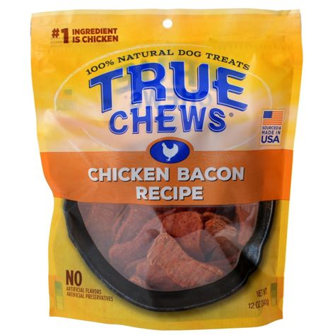 Chews Chicken true chews true chews chicken bacon recipe treats made in the usa treats