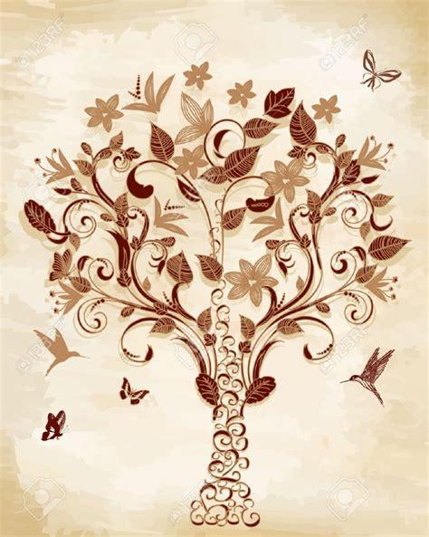 vintage tree vintage tree wallpaper wallmaya